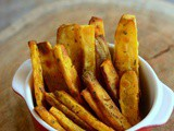 Baked Sweet Potato Wedges-Sweet Potato Recipes-Easy Snacks Recipes