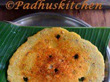 Banana Flower Adai-Vazhaipoo Adai Recipe