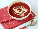 Beetroot Potato Soup-Easy Beetroot Soup Recipe (Indian)