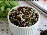 Black Gram Sundal-Ulundu Sundal Recipe-Whole Urad Dal Sundal