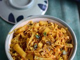Cabbage Potato Curry-Aloo Patta Gobhi Sabzi Recipe