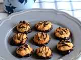 Chocolate Coconut Macaroons-Chocolate Dipped Coconut Macaroons Recipe