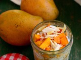 Coconut Mango Overnight Oats Recipe
