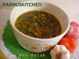 Dal Palak Recipe-Palak Dal-Spinach Dal-(step wise pictures)