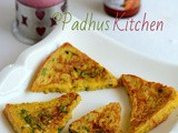 Easy Savory French Toast Recipe-Indian Style