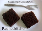 Eggless Chocolate Cake-Eggless Moist Chocolate Cake Recipe