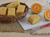 Eggless Orange Cake-Eggless Cake Recipes