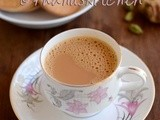 Ginger Cardamom Tea Recipe-Adrak Chai-How to make Ginger tea