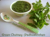 Green Chutney-Green Chutney Recipe for Chaat,Sandwich