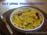 Idli Upma Recipe-Recipe with Leftover idlis