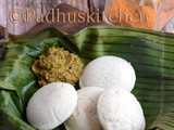 Idli using Idli Rava-Easy Idli Recipe using Rice Rava