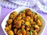 Jeera Aloo Recipe-Punjabi Jeera Aloo Sabzi-Spicy Potato Curry