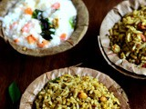 Karuveppilai Sadam-Curry Leaves Rice Recipe