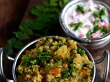 Kootanchoru Recipe-Healthy One Pot Meal with Lentils-Greens-Vegetables