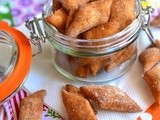 Maida Sweet Biscuit Recipe-Sweet Diamond Cut Maida Biscuits-Easy Diwali Snacks for Kids