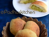 Masala Buns Recipe-Potato Stuffed Masala Buns-Aloo Buns
