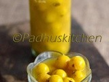 Neer Nellikai-How to make Neer Nellikkai-Gooseberries in Salted water