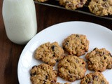 Oats Cranberry Cookies-Oats Cranberry Whole Wheat Walnut Cookie Recipe