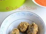Oats Kozhukattai-Oats Vegetable Kara Kolukattai Recipe-Steamed Oats Dumplings