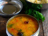 Pasi Paruppu Sambar-Moong Dal Sambar-Tiffin Sambar-Side dish for Pongal-Idli