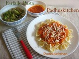 Pasta in Tomato Sauce-Easy Pasta Recipe (Vegetarian)