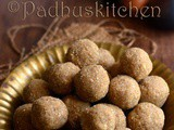 Peanut Ladoo Recipe-Groundnut Sesame Seed Coconut Laddu with Jaggery