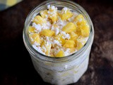 Pina Colada Overnight Oats-Pineapple Coconut Overnight Oats-Vegan Overnight Oats