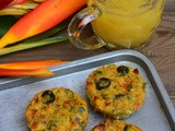 Savory Breakfast Muffins with Quinoa-Quinoa Egg and Vegetable Muffins