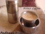 South Indian Filter Coffee-How to make Filter coffee