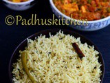 Thengai Paal Sadam-Coconut Milk Rice Recipe