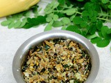 Vazhaipoo Murungai Keerai Poriyal-Drumstick Leaves Banana Flower Stir Fry Recipe