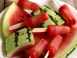 Watermelon Popsicle-Watermelon Popsicles Recipe-Kids Friendly Holiday Recipes