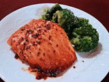 Baked Five-Spice-Maple-Glazed Salmon