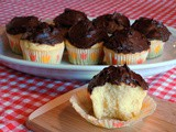 Celebration Time ~ Classic Yellow Cupcakes with Dark Chocolate Frosting