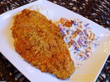 Dinner was Oven-fried Catfish