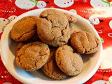 Spicy Cardamom and Molasses Ginger Cookies
