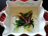 Easy South Indian Style Coconut Chutney For Idli/Dosa