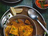 Egg Omelette Curry Or Dimer Bowrar Jhol