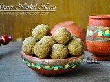 Gurer Narkel Naru Or Bengali Style Coconut Laddu With Date Palm Jaggery