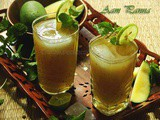 Kancha Aamer Sorbot Or Aam Panna Or Green Mango Drink