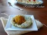 Koraishutir Kochuri/Kachori-Matar/Mutter/Fresh green pea stuffed fried Indian bread & Aloor dum or Dum Aloo