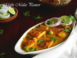 Methi Malai Paneer Or Paneer/Cottage Cheese Cooked In Creamy Fenugreek Flavored Gravy