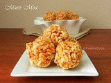 Murir Moa Or Puffed Rice Laddu With Jaggery