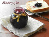 Quick And Easy Homemade Blueberry Jam Recipe