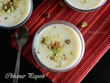Ricotta Cheese Pudding Or Chhanar Payesh