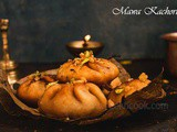Sweet Kachori Filled With Sweet Khova/Mawa & Nuts Or Sweet Fleky Pastry Stuffed With Milk Solid & Nuts Filling