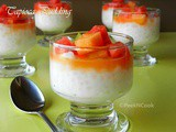 Tapioca Pudding Or Sabudana Pudding