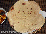 Whole Wheat Indian Flat bread or Roti.Or Ruti Or Chapati