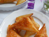 Cheese Phyllo Triangles - Greek recipe