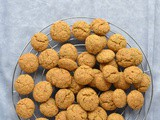 Cookies with Buckwheat flour, Almond, Turmeric and other Spices